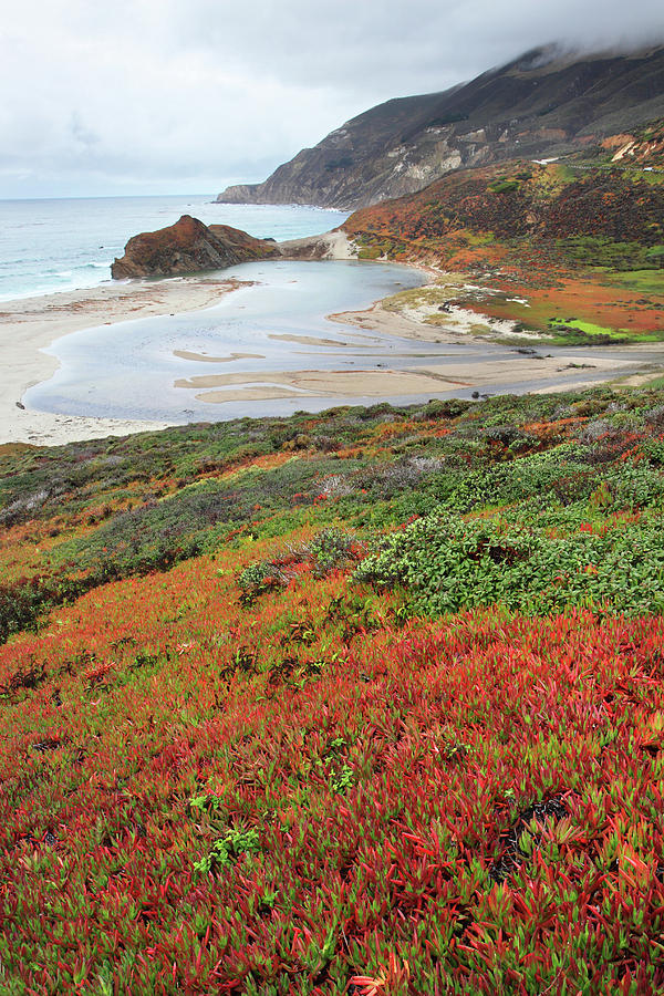 Big Sur Photograph - Autumn In Big Sur California by Pierre Leclerc Photography