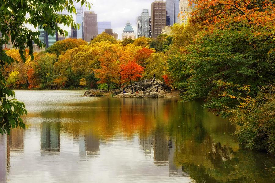 Autumn In Central Park Photograph
