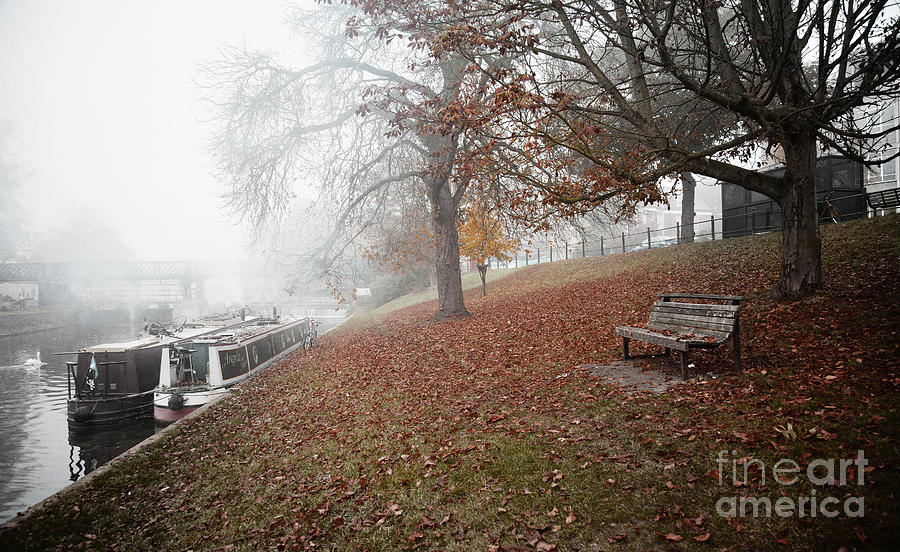 Autumn in River Cam by Eden Baed