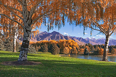 Autumn In Sugarhouse Park Photograph