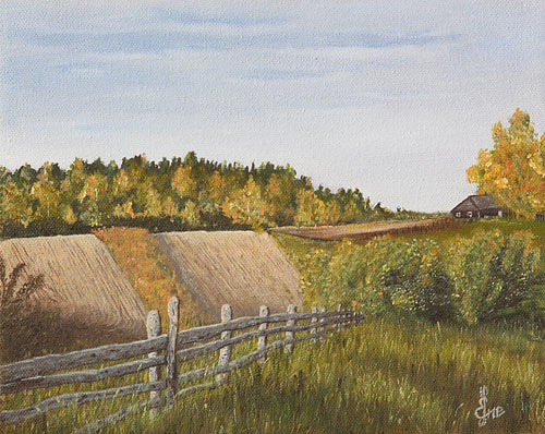 Autumn Painting - Autumn In The Countryside by Ene Rahu