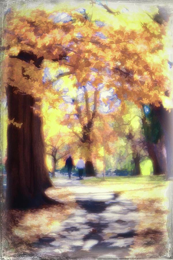 Autumn Photograph - Autumn In The Park by Jeannine Walker