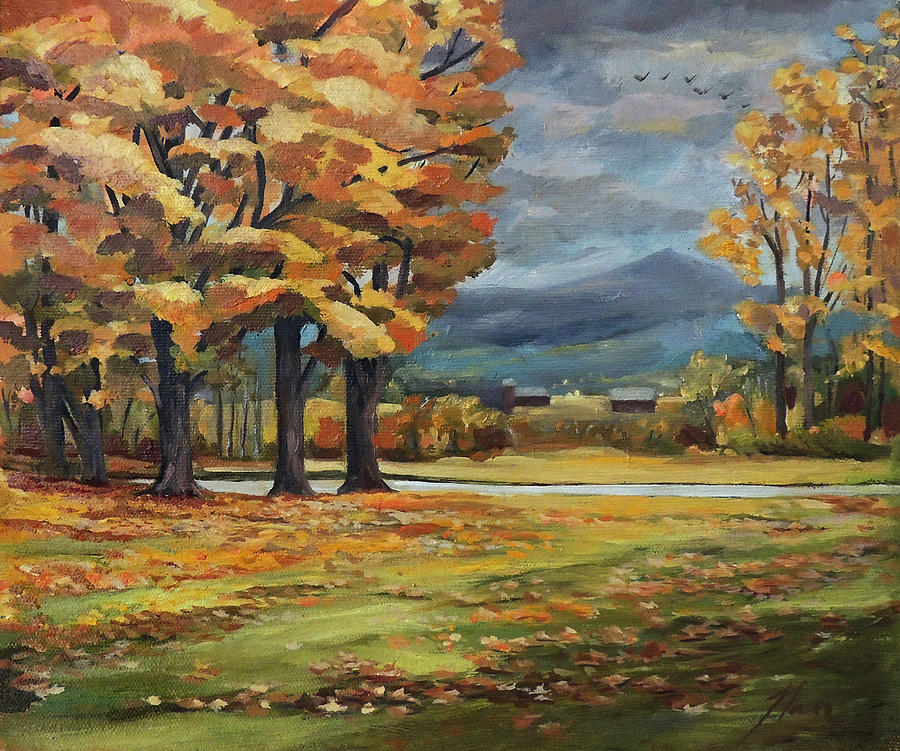 Autumn in Vermont by Nancy Griswold