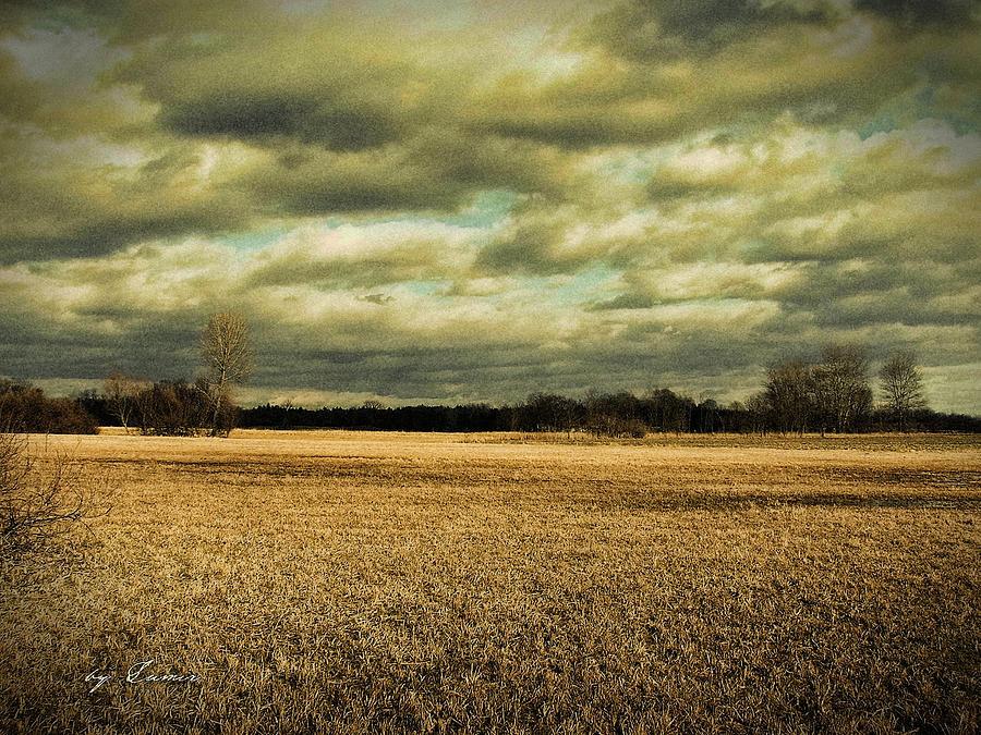 Photo Digital Art - Autumn by Ivan Csorgo