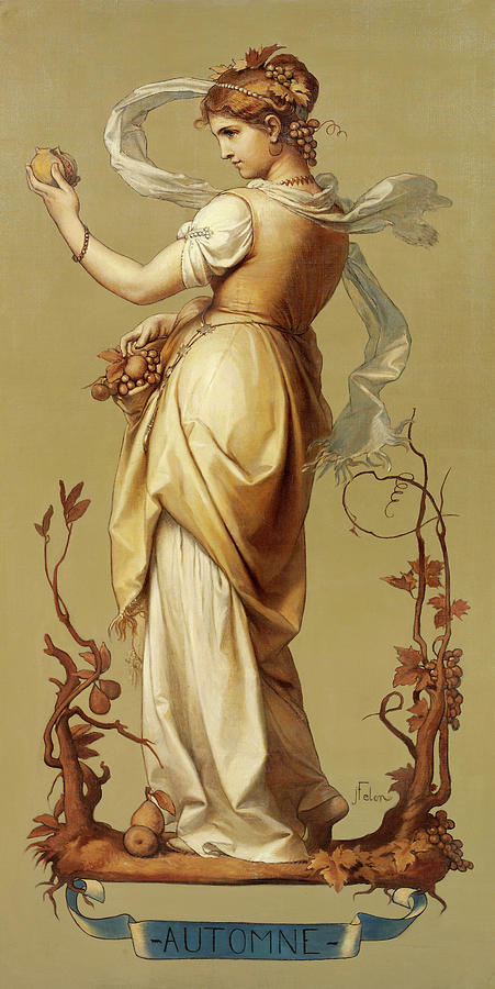 Autumn Painting - Autumn by Joseph Felon