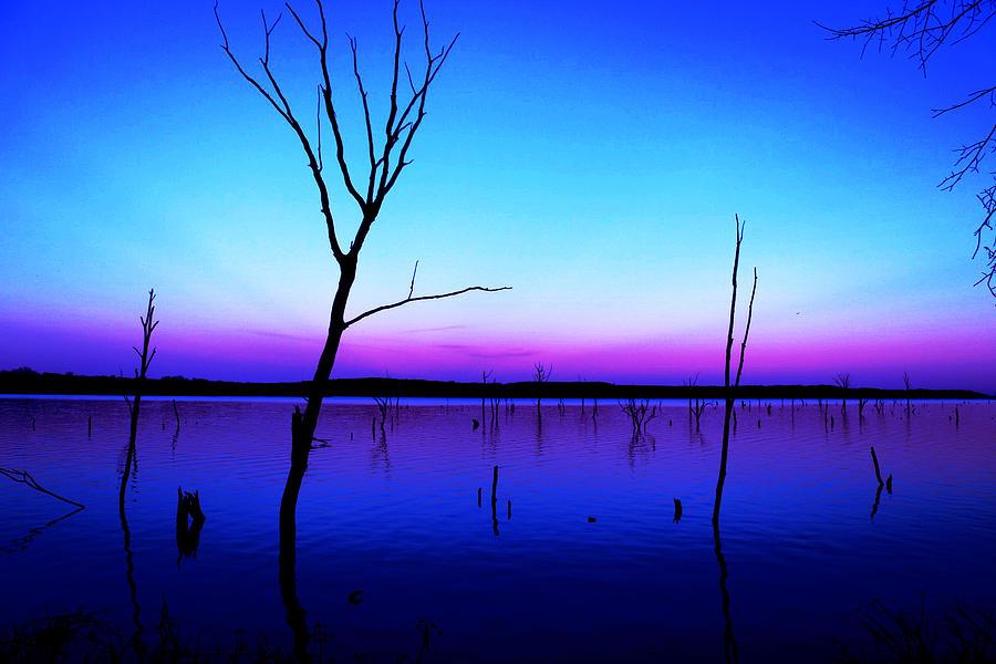 Nature Photograph - Autumn Lake by Zach Hunter