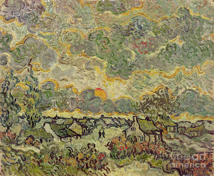 Autumn Painting - Autumn Landscape by Vincent Van Gogh