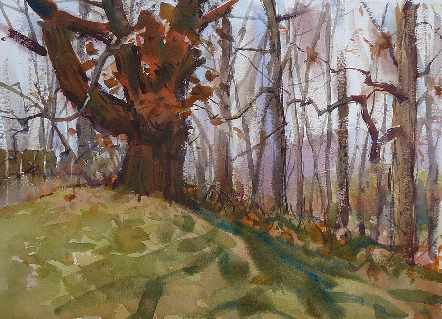 Autumn Painting - Autumn Lansing Michigan by Frank LaLumia
