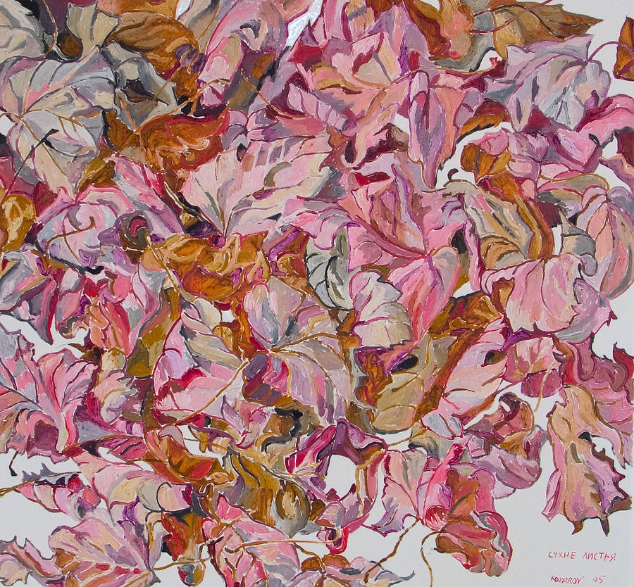 Autumn Painting - Autumn Leafes by Vitali Komarov