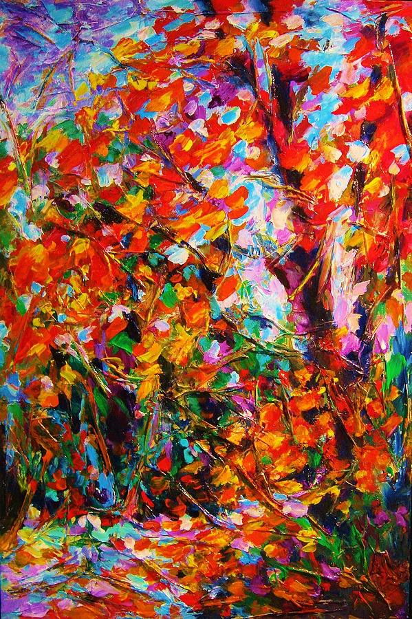 Autumn Leaves by Helen Kagan