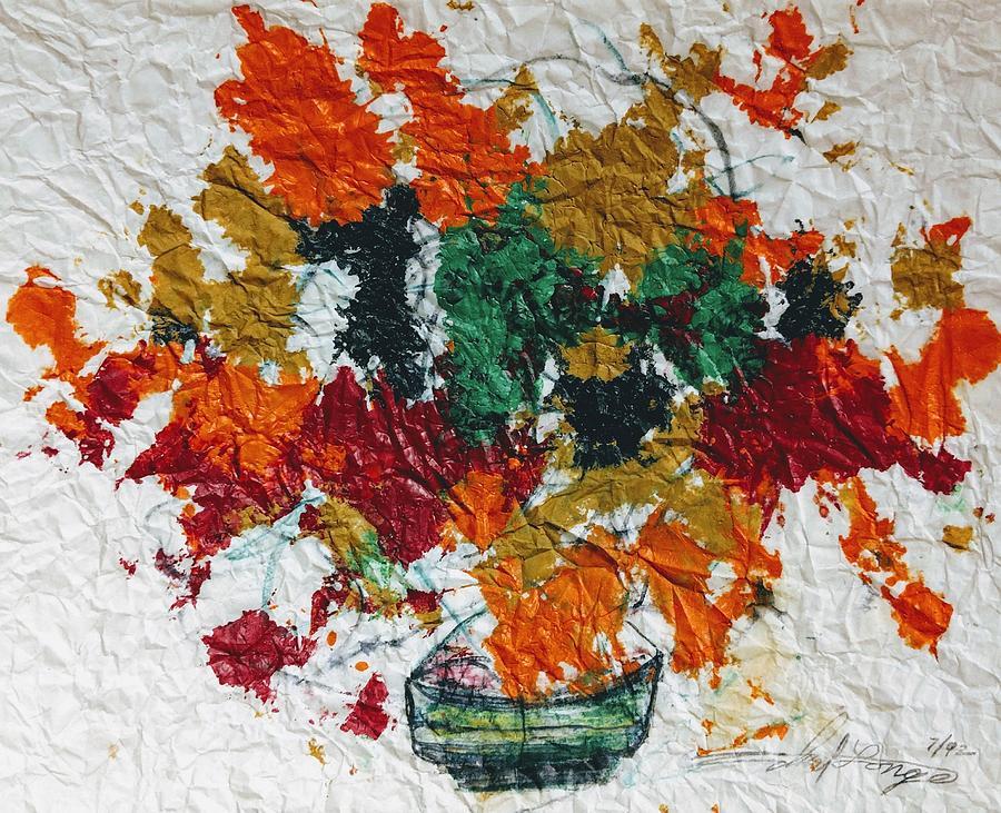 Autumn Leaves Plant by Edward Longo