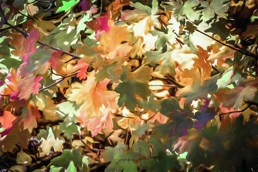 Autumn Leaves by Steve Kelley