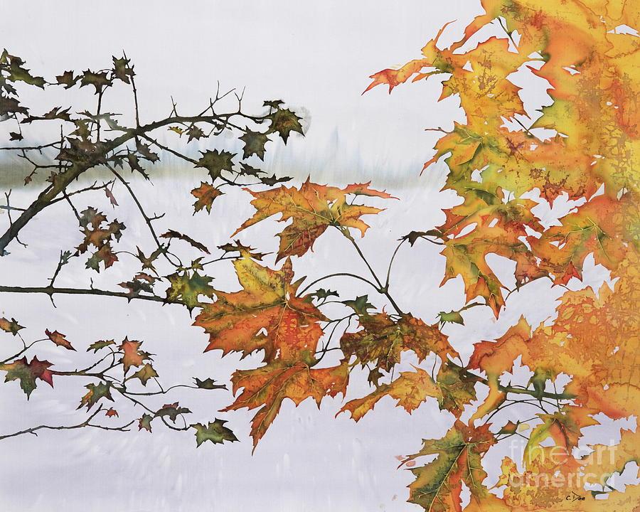 Autumn Maples by Carolyn Doe