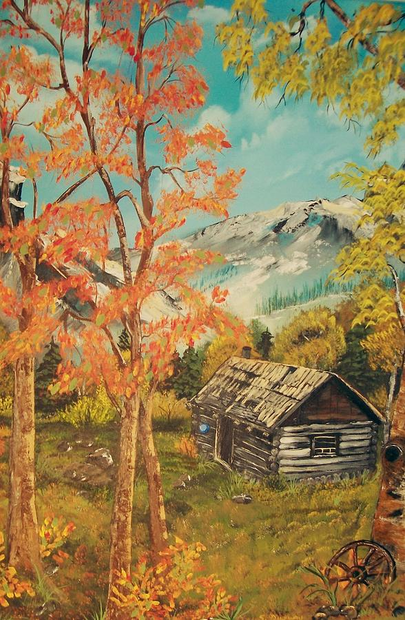 Autumn Painting - Autumn Memories by Sharon Duguay