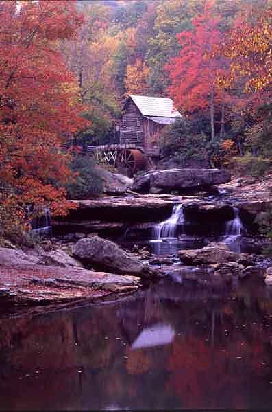 Autumn Mill Photograph by Benjamin D Walls