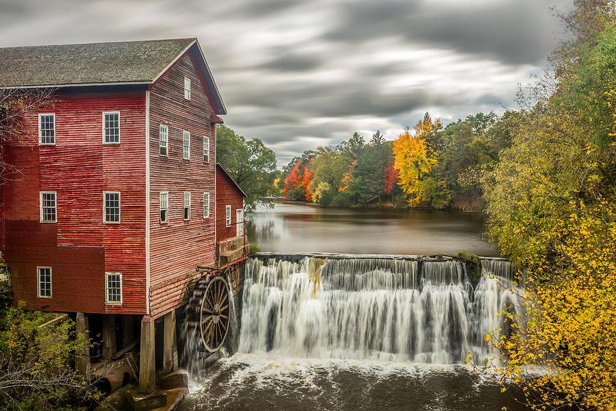 Augusta Photograph - Autumn Mill by Mark Goodman