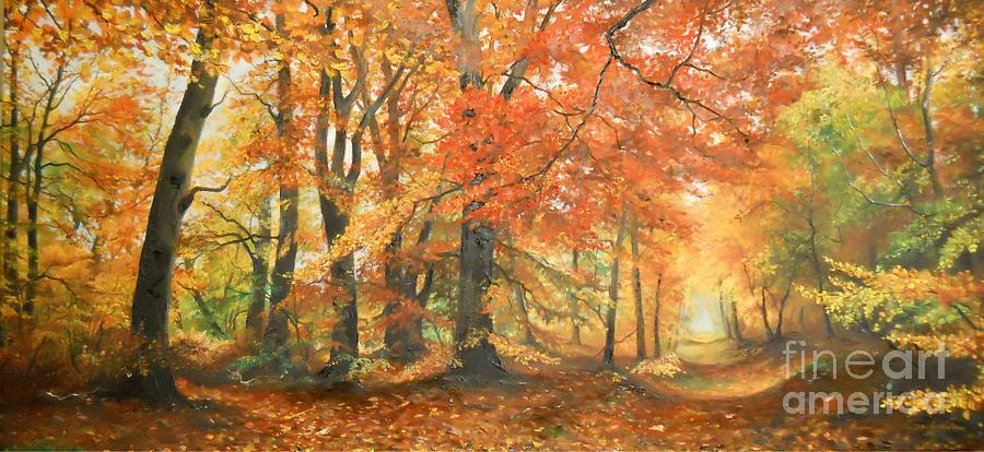 Autumn mirage by Sorin Apostolescu