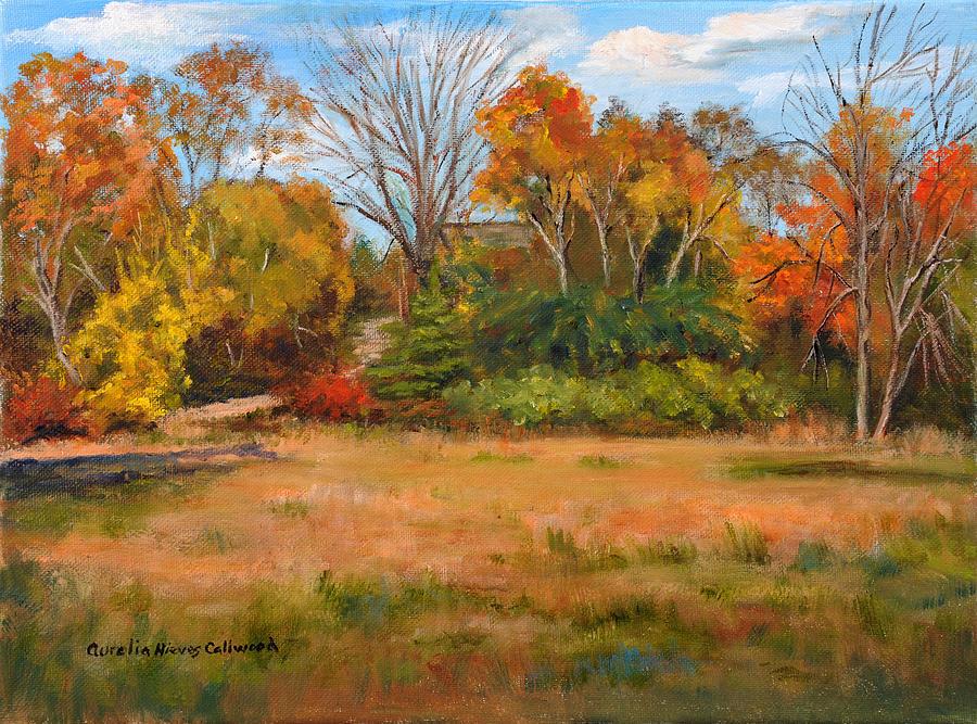 Autumn Morning by Aurelia Nieves-Callwood