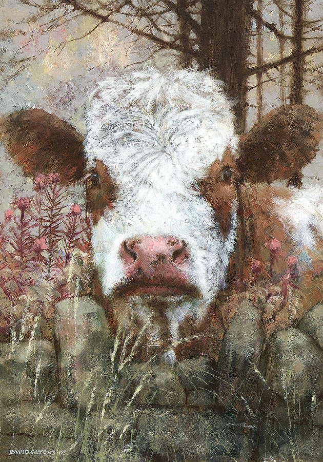Hereford Painting - Autumn Morning by David Lyons