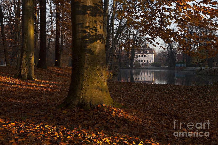 Cottbus Photograph - Autumn Morning In Park Branitz by Steffen Krahl