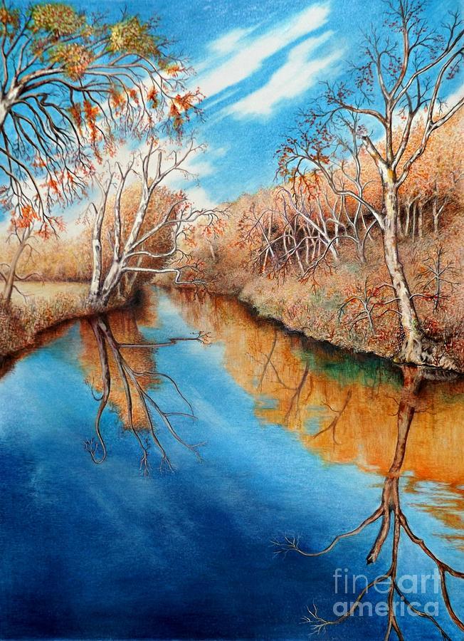 Autumn on the Elkhorn by David Neace