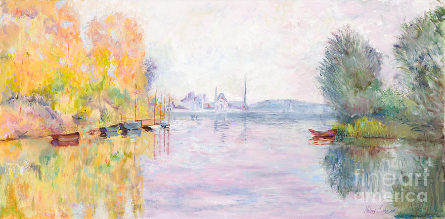 autumn on the seine at argenteuil