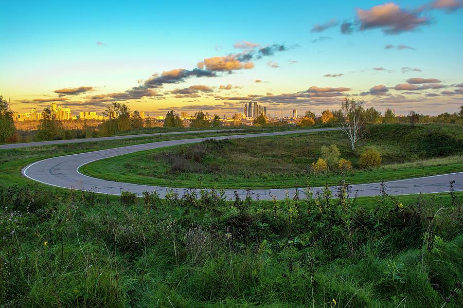 Autumn Photograph - Autumn park by Konstantin Bibikov