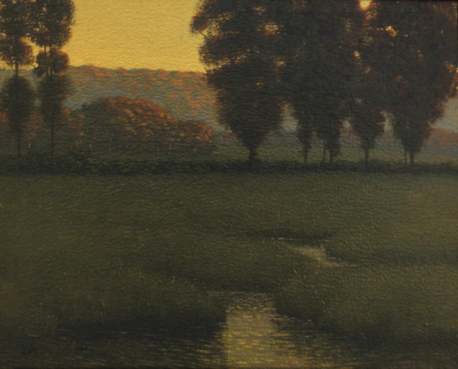 Autumn Painting - Autumn Pastures by Eric Angeloch