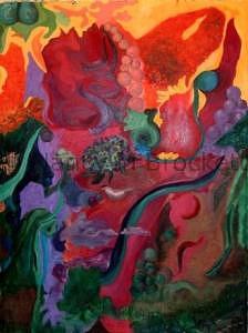 Autumn Painting - Autumn Pathways by Nancy Brockett