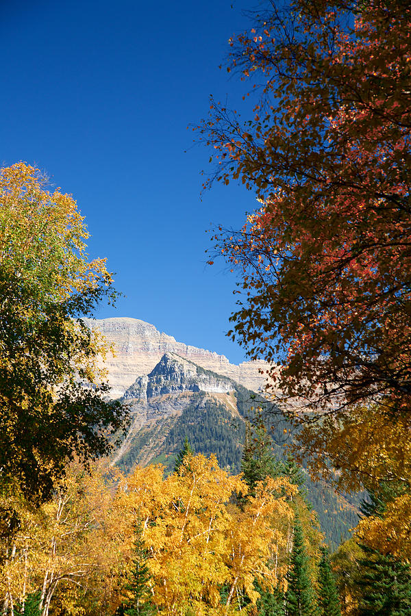 Lawrence Photograph - Autumn Peaks by Lawrence Boothby