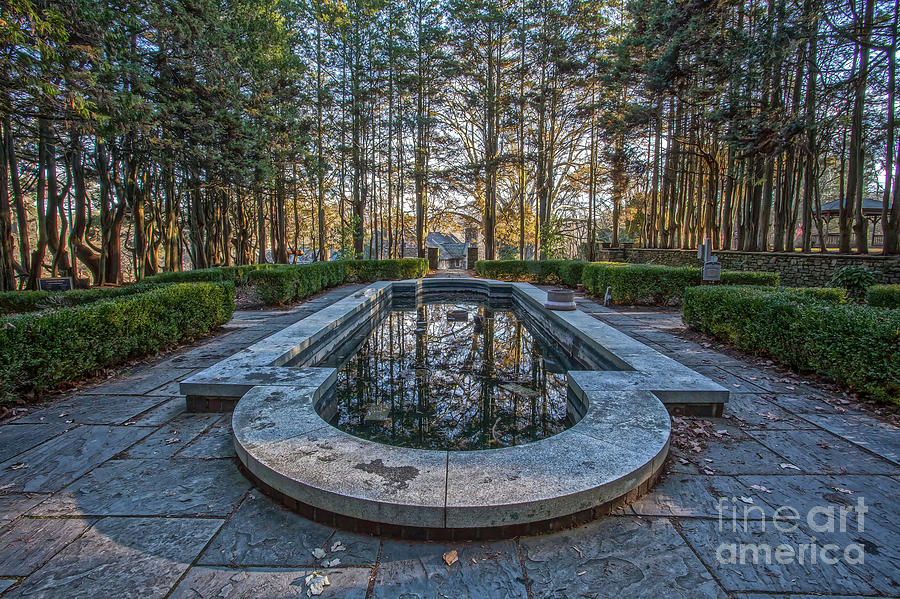 Autumn Reflecting Pool by Stephen McDowell