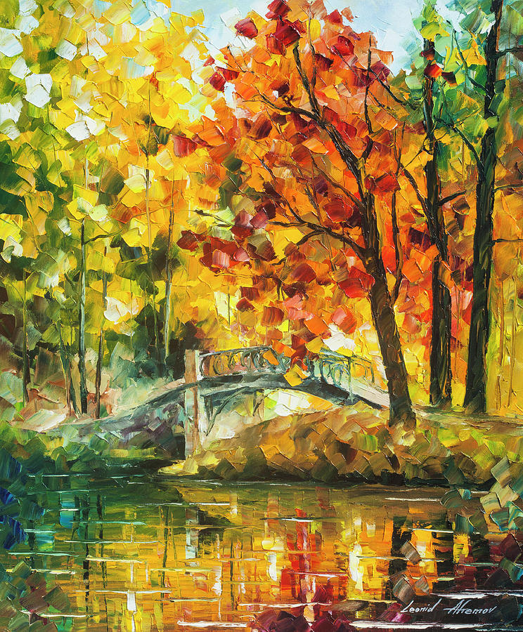 Painting Painting - Autumn Rest   by Leonid Afremov