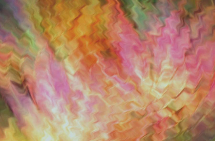 Abstract Digital Art - Autumn Ripples by Kae Art