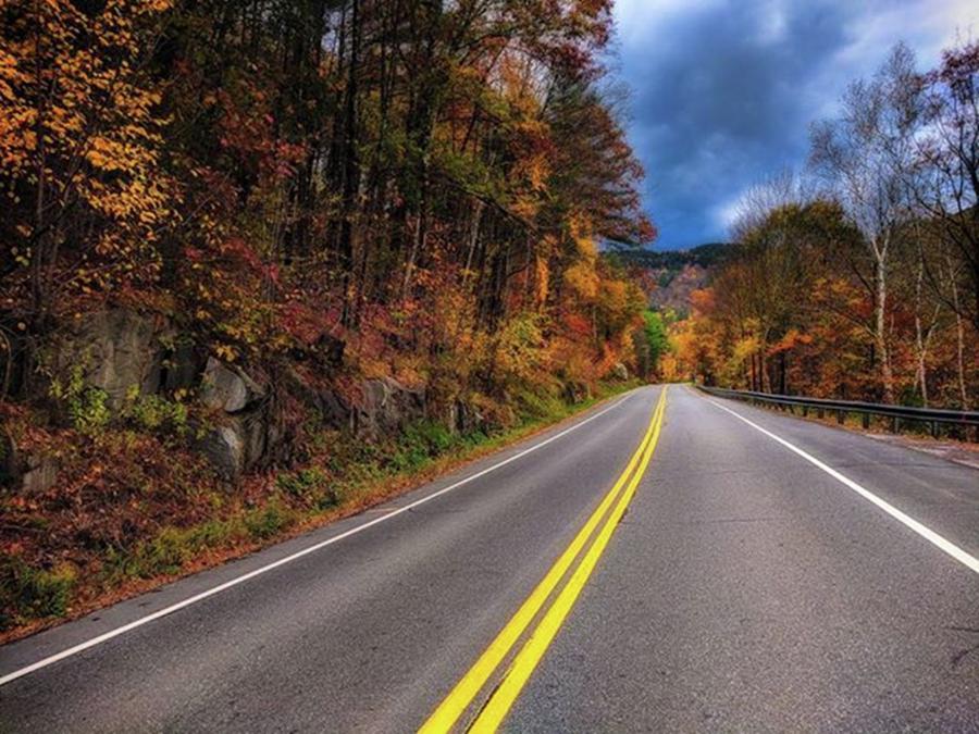 Pullover Photograph - Autumn Roads (vt)  another Quick by Craig Szymanski