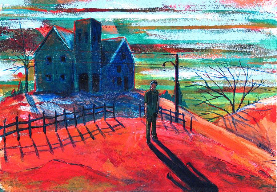 Autumn Painting - Autumn by Rollin Kocsis