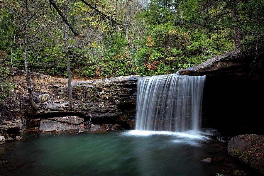 Autumn Shower On Glade Creek Photograph