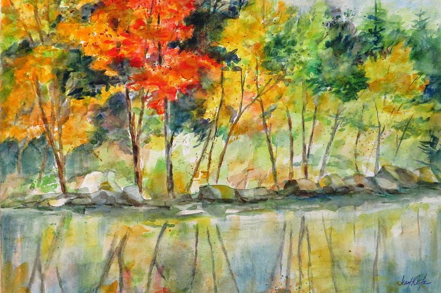 Autumn Painting - Autumn Splender by Jean Costa