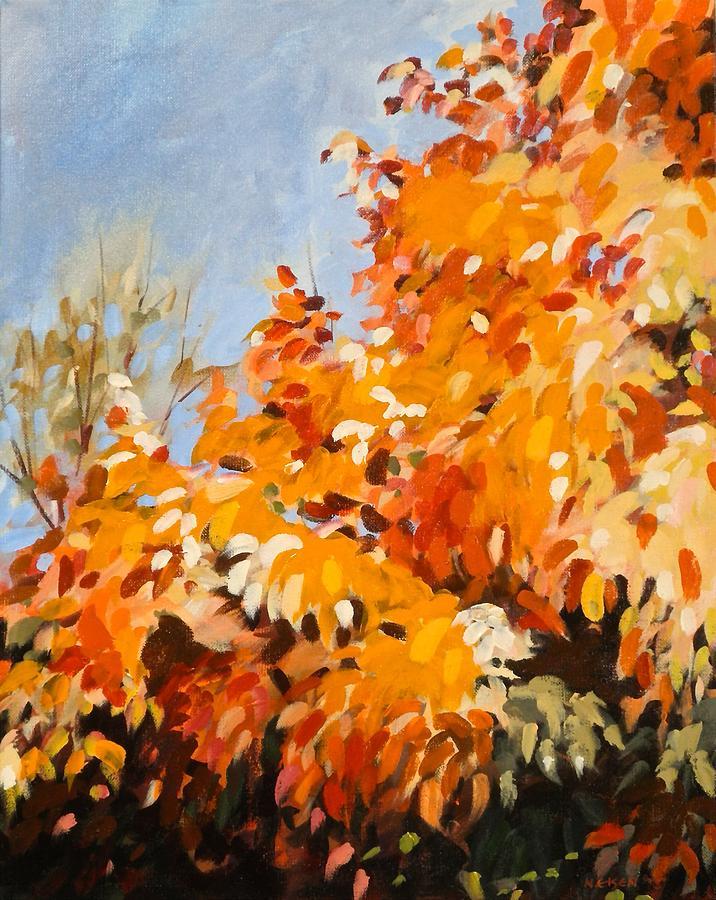 Autumn Splendor by Outre Art  Natalie Eisen