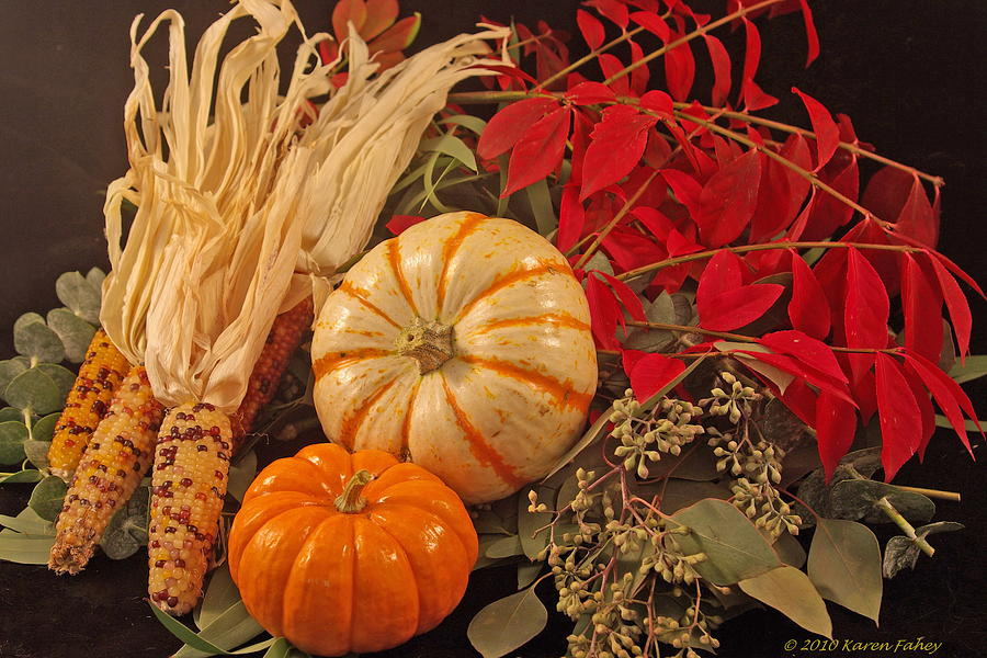 Autumn Photograph - Autumn Still Life by Karen Fahey