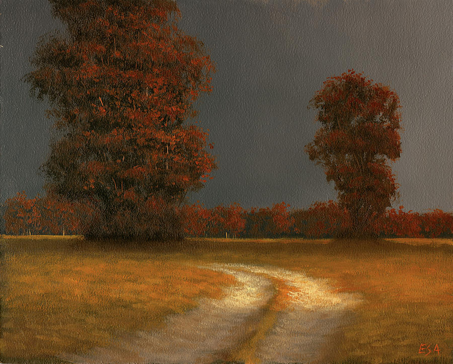 Landscape Painting - Autumn Storm 4 by Eric Angeloch