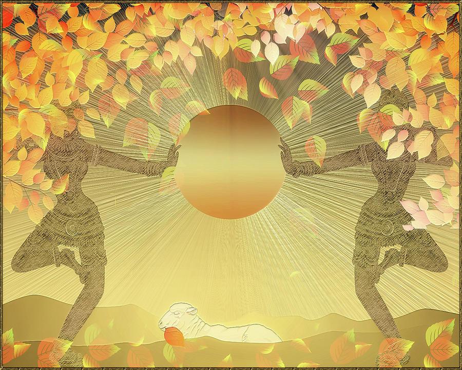 Autumn Sun Digital Art by Harald Dastis