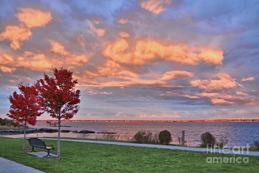 Autumn Sunset by Tammie Miller