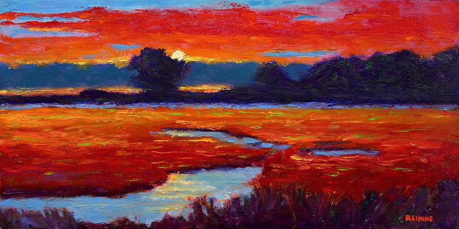 Autumn Sunset by Vernon Reinike