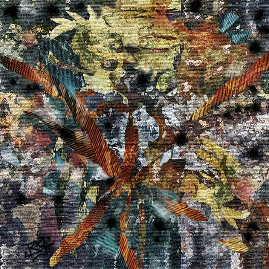 Autumn Colors Digital Art - Autumn Twilight by Jean Batzell Fitzgerald