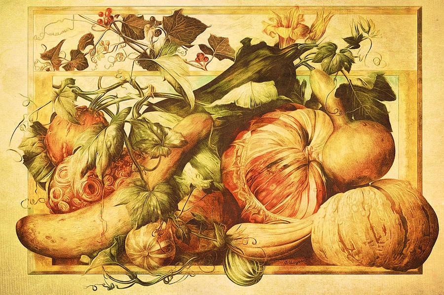 Autumn Vegetable Harvest  by Tracie Kaska