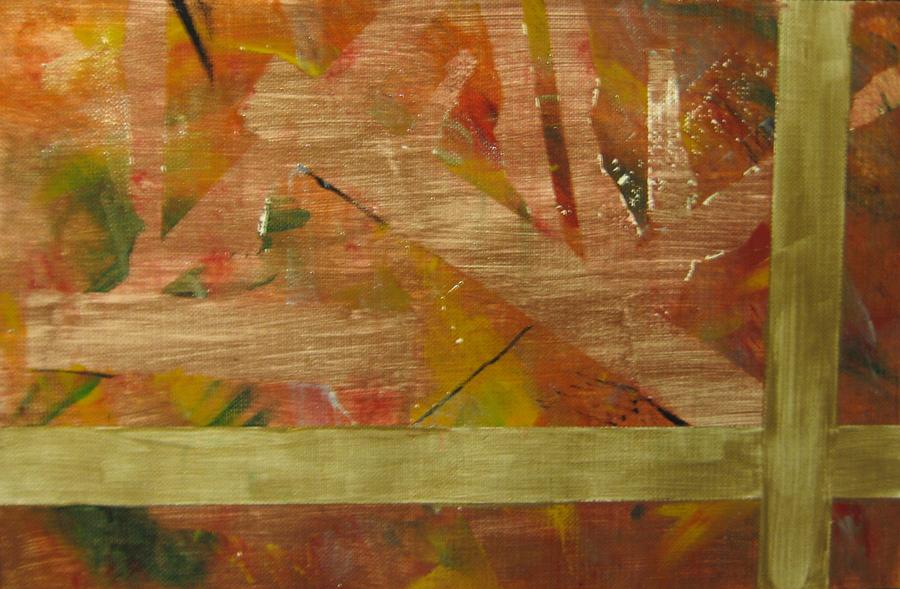Abstract Painting - Autumn by Veronica Trotter