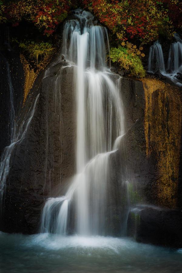 Autumn Waterfall by Chris McKenna