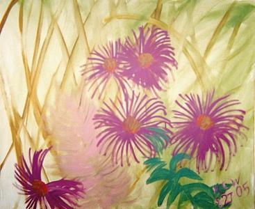 Botanical Painting - Autumn Whispers  Original by Christine Ward