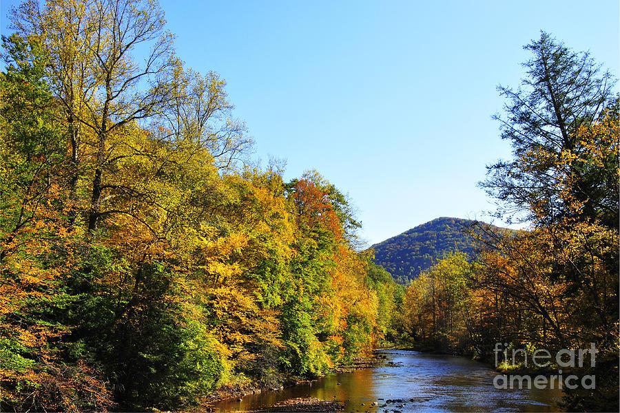 Williams River Photograph - Autumn Williams River by Thomas R Fletcher