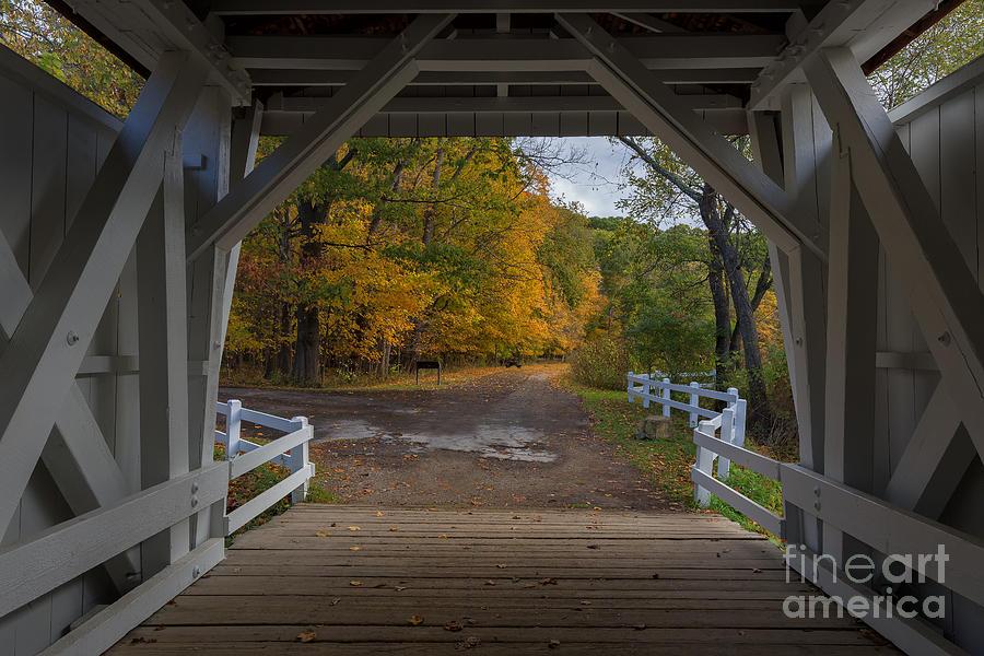 5dmkiii Photograph - Autumn Window by Joshua Clark